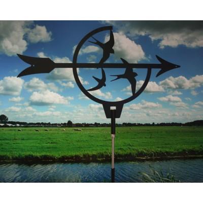 Windwijzer Large met Zwaluwen